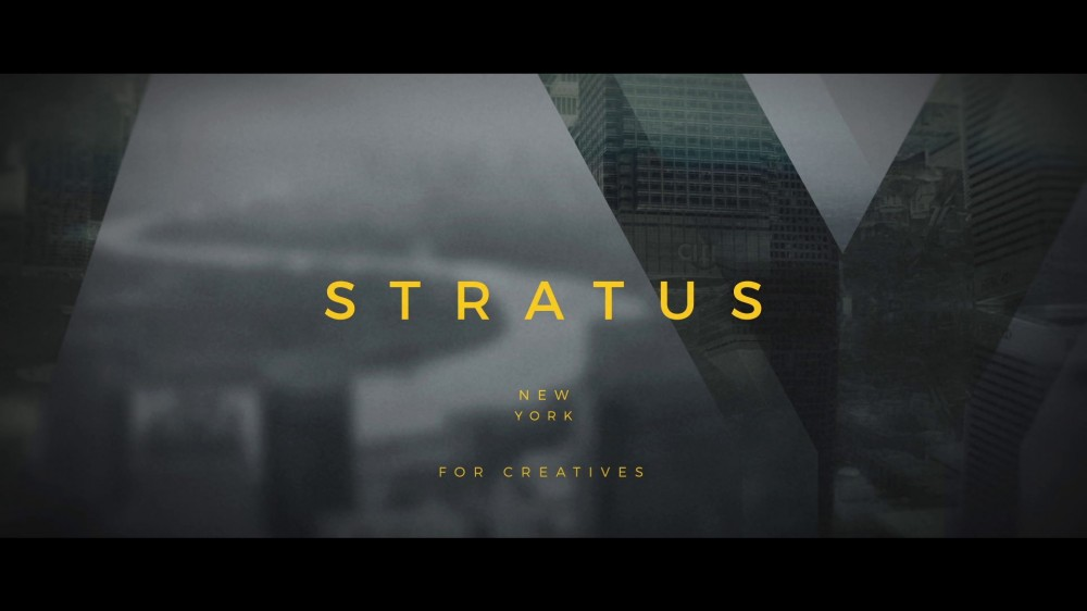 Stratus: Hip Title Sequence - After Effects Template