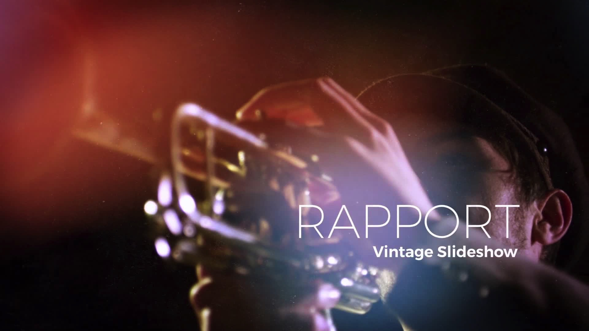 Rapport Fresh Slideshow After Effects Template - Music video template after effects