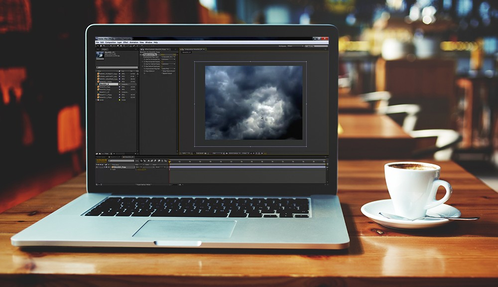 Clouds in After Effects