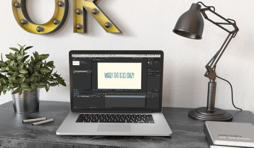 Wiggly Text in After Effects Featured