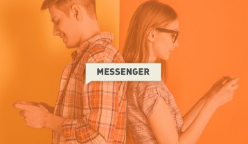 text messaging after effects template