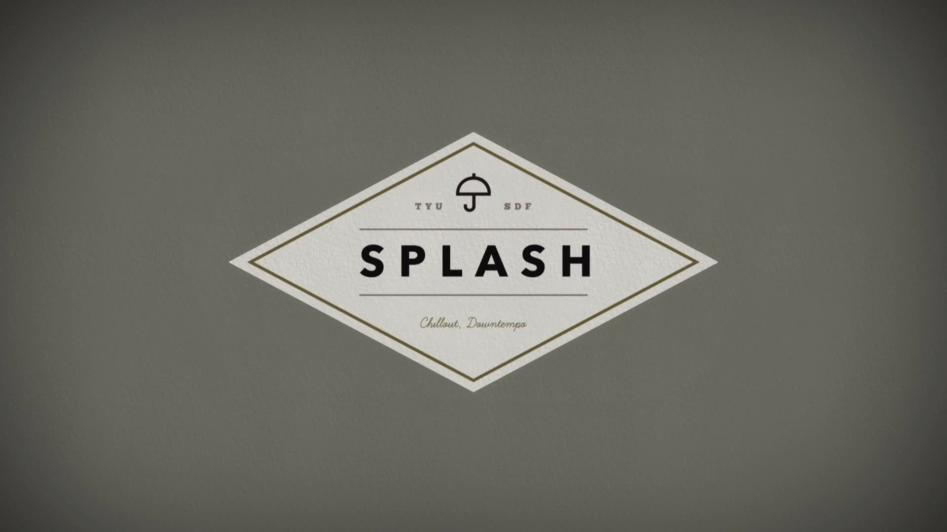 splash organic logo reveal after effects template. Black Bedroom Furniture Sets. Home Design Ideas