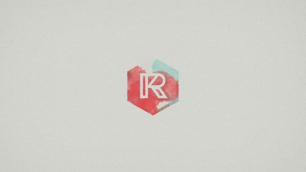 Splash organic logo reveal after effects template for Logo reveal template