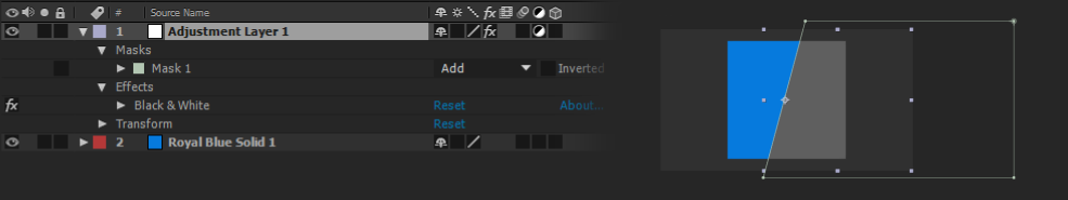 A Guide to Layers in After Effects: ADJUSTMENT LAYERS