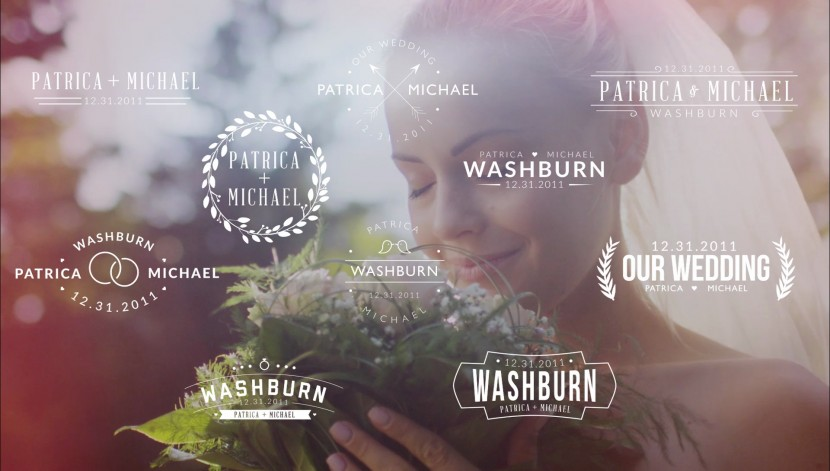 Unity After Effects Template Wedding Pack 8
