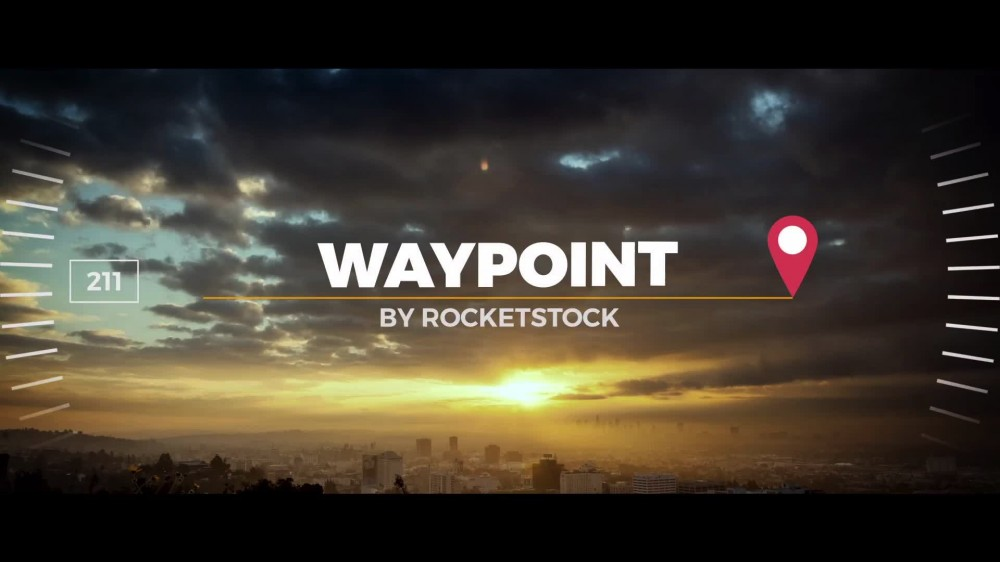 Waypoint Exoctic Slideshow After Effects Template - Adobe after effects slideshow templates