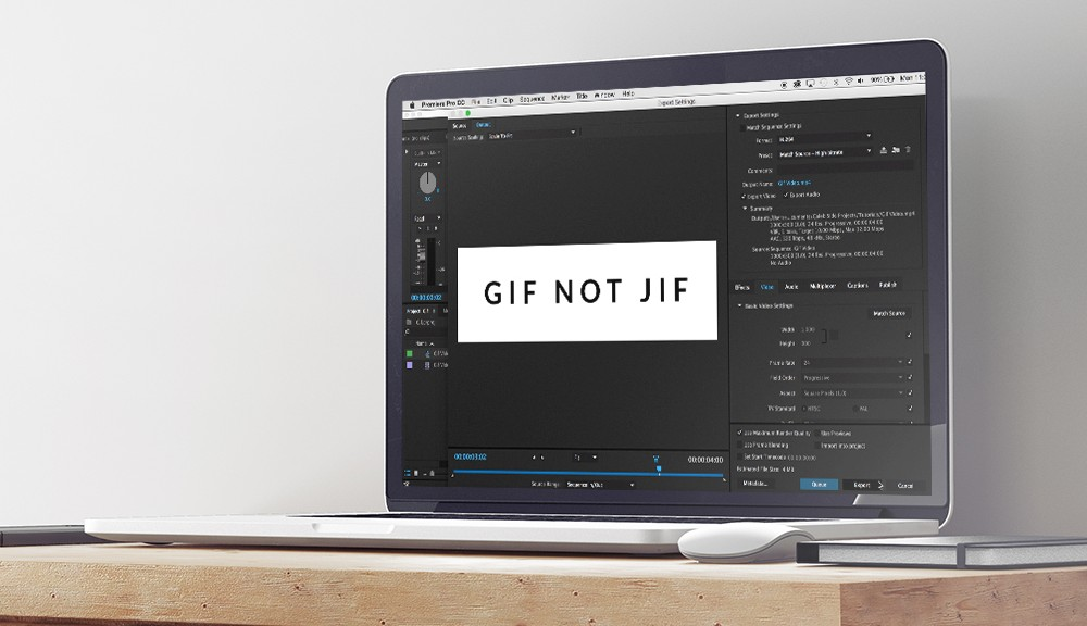 Creating GIFs in Premiere Pro