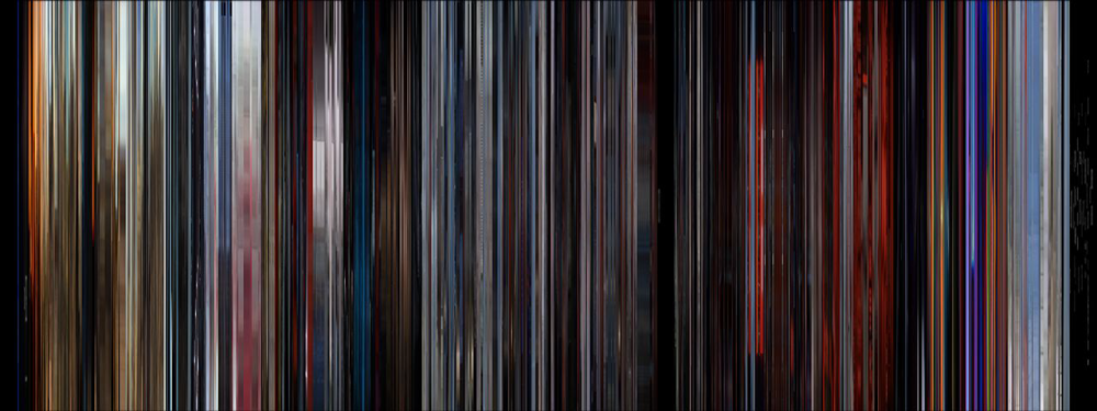 Great Use of Color in Pre-Digital Films: 2001: A Space Odyssey MovieBarCode