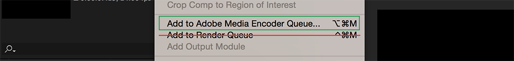 5 Life-Changing Ways to Speed Up After Effects - Media Encoder