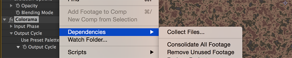 5 After Effects Lessons I Learned the Hard Way - Collect Files in After Effects