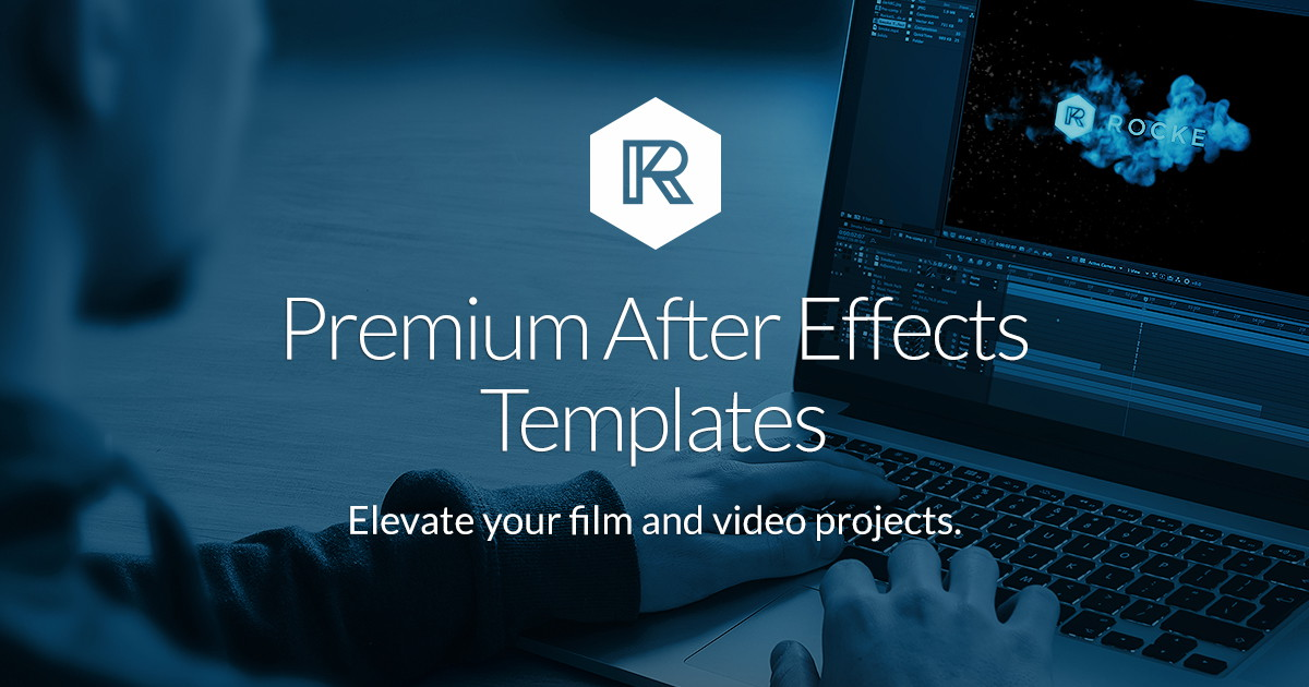 Free after effects templates rocketstock for How to use adobe after effects templates