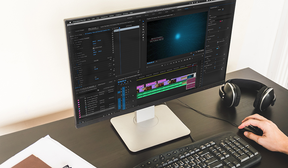 adobe premiere pro slideshow templates - the new essential graphics panel in premiere pro