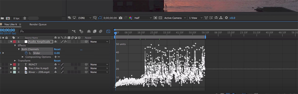 Create Graphics that React to Music in After Effects — Audio Amplitude