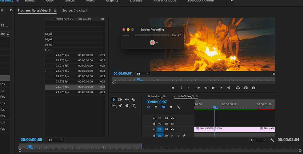 How To Record Tutorials with QuickTime Player — Variable Frame Rate