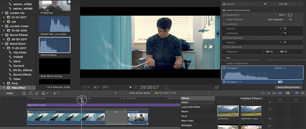 How to Create the Spider-Man Camera Grab Effect in FCPX — Sound Effects