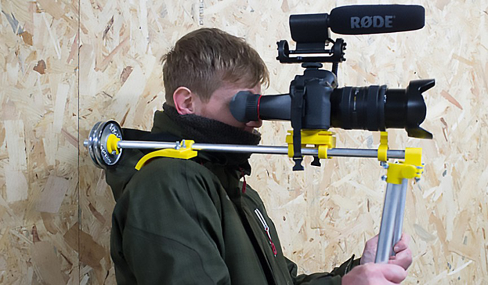 3D Print Your Own Camera Gear with These Free Instructions - Shoulder Rig