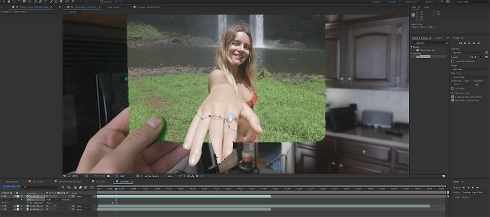 Pull Somebody Through a Picture with This After Effects Tutorial — Rotoscoping