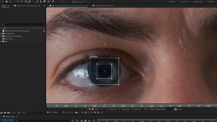 Create Blade Runner-Inspired Eyes in After Effects — Track Motion