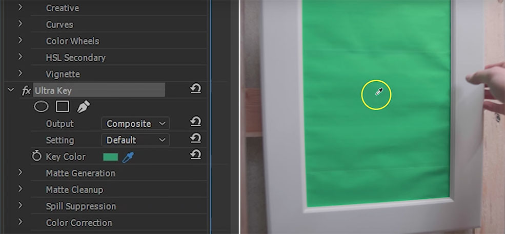 Video Editing Tricks: Moving the Camera Through a Mirror — Green Screen