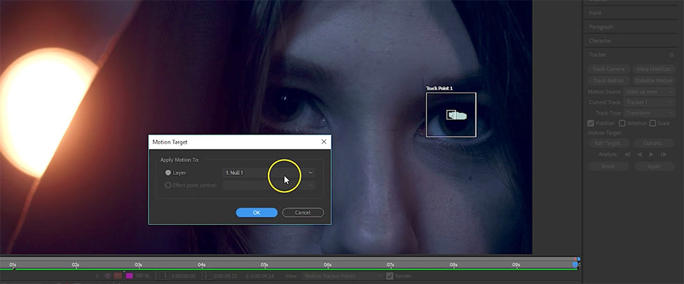 How to Create Mechanized Eyes in Adobe After Effects — Motion Tracker
