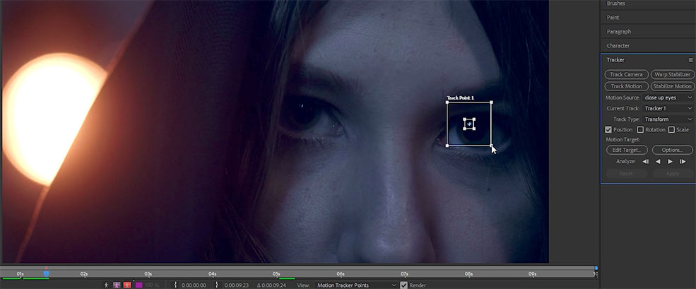 How to Create Mechanized Eyes in Adobe After Effects — Light Subject