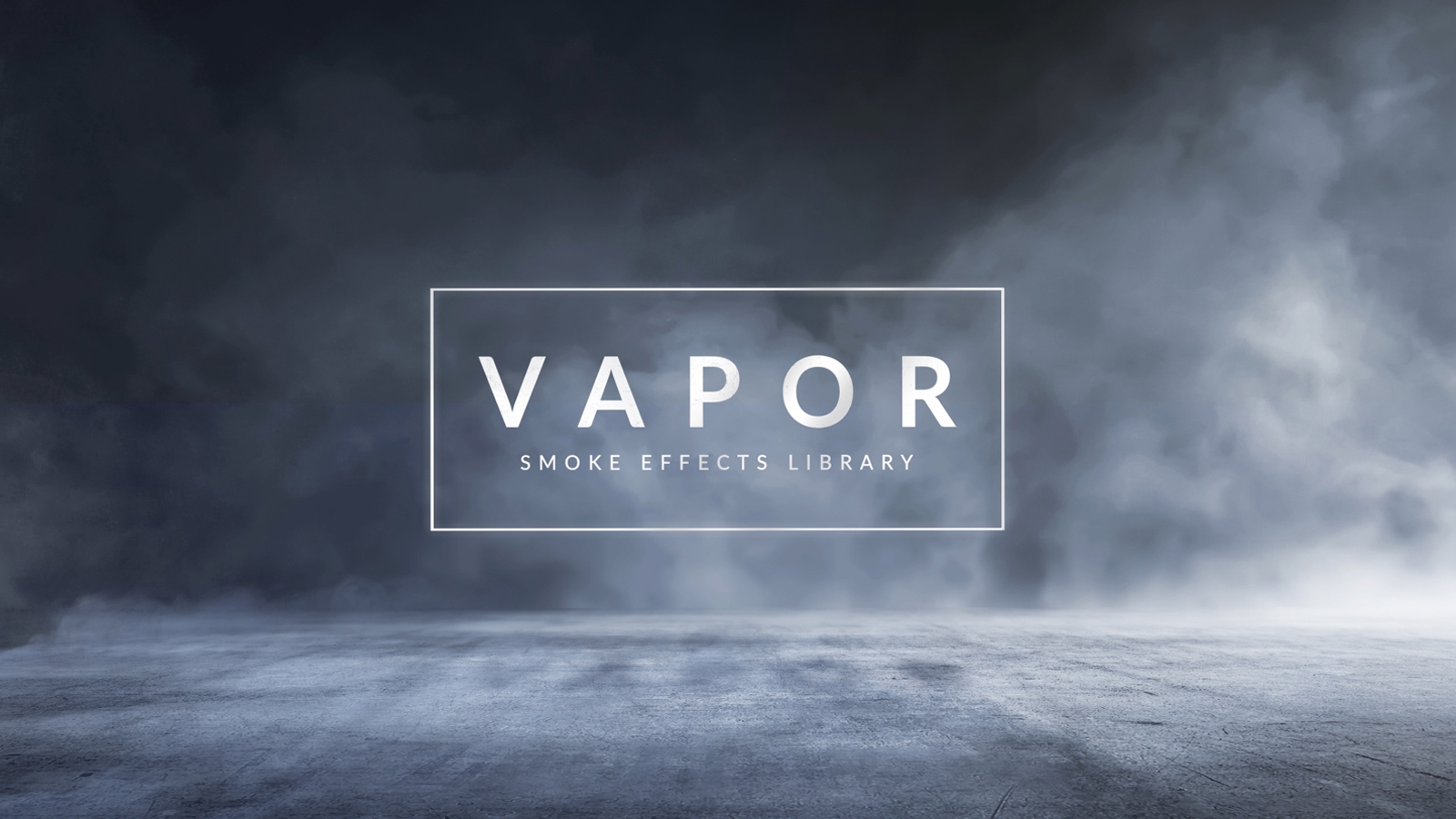 Vapor 100 smoke fog effects for video projects for After effects lyric video template