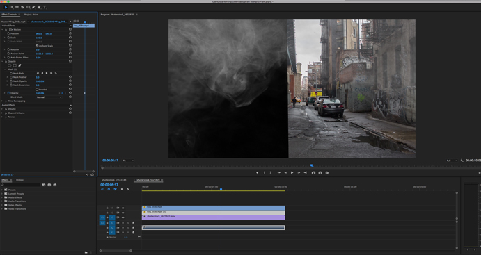 Vapor: 100+ Smoke & Fog Effects for Video Projects