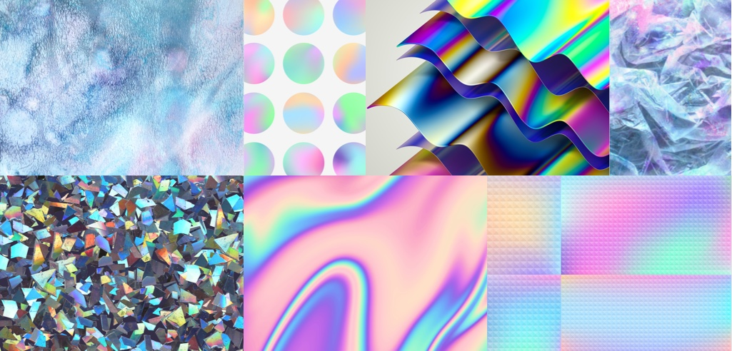 The Data Behind 2018's Design and Motion Graphic Trends — Holographic Foil