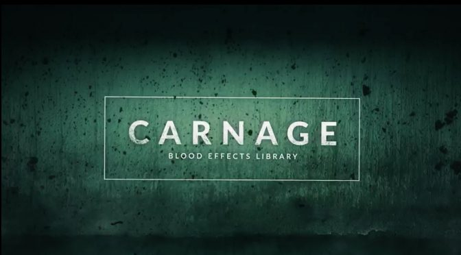 Blood effects for video and film