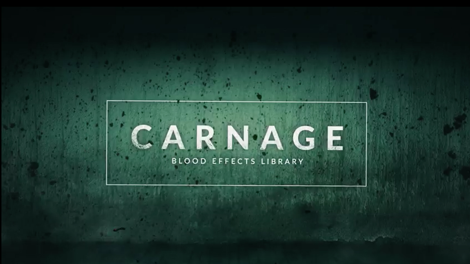 Carnage: 296 Blood Video Effects for Gory & Horror Scenes