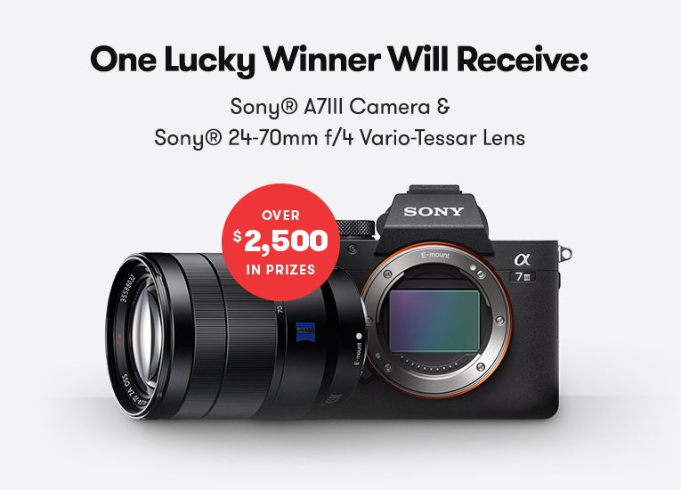 Back-to-Business Giveaway: Win A Sony A7III and Sony 24-70mm f/4 Vario-Tessar Lens — Prize