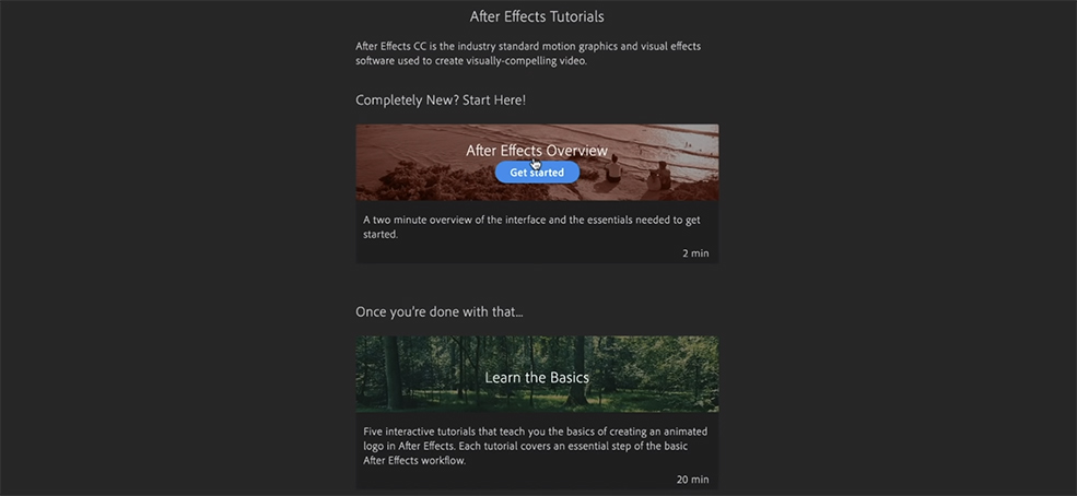 The Latest After Effects Update Packs A Serious Punch — New Tutorial Option