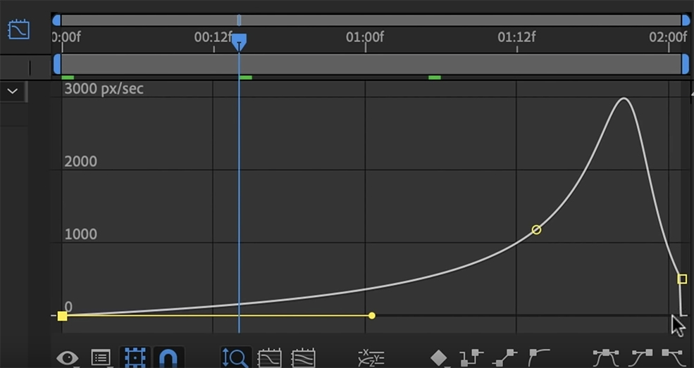 Create Smooth Graphics By Fine-Tuning Your Keyframes in AE — Edit Speed Graph