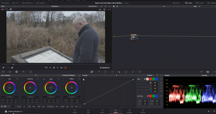 DaVinci Resolve Color Grading and Color Correction Walkthrough — Midtones