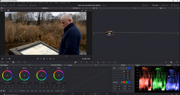 DaVinci Resolve Color Grading and Color Correction Walkthrough — Balanced Highlights