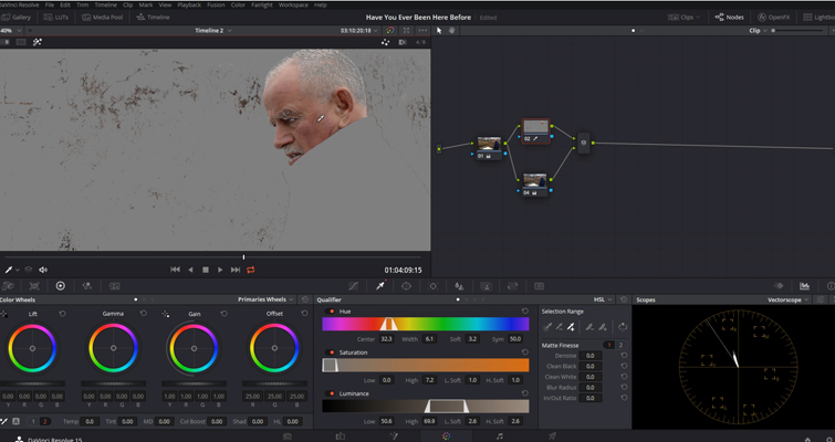 DaVinci Resolve Color Grading and Color Correction Walkthrough — Parallel Node