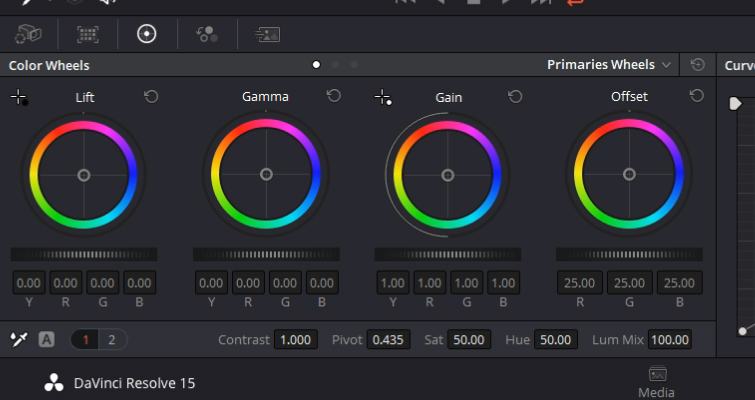 DaVinci Resolve Color Grading and Color Correction Walkthrough — Color Wheels