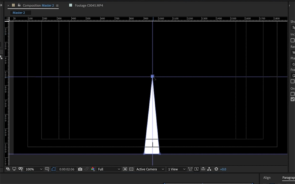 How to Create Anime-Style Speed Lines In After Effects — Creating the Shape