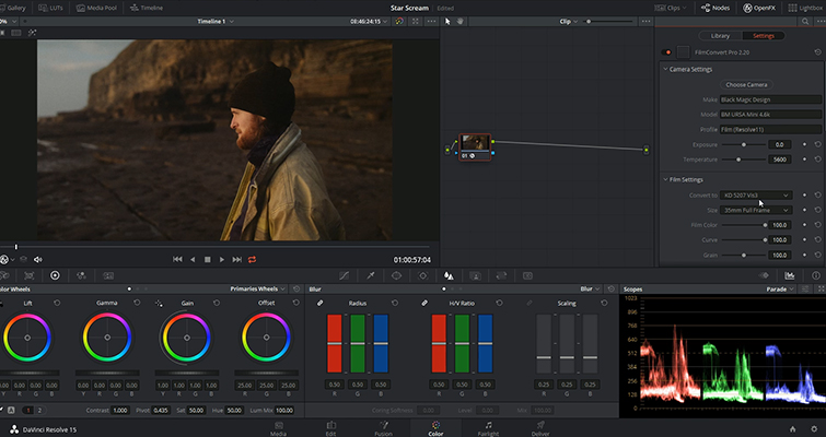 Video Tutorial: Using FilmConvert in DaVinci Resolve — Contrast and Exposure