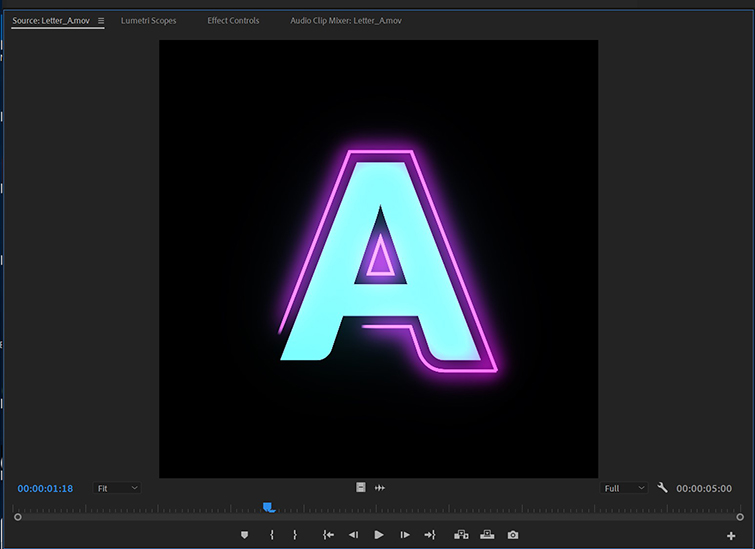 Add Color and Motion to Your Titles With This Free Animated Neon Typeface — Import Directly