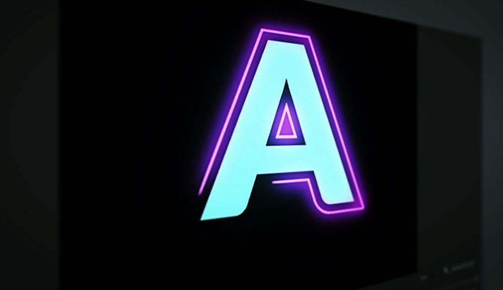 Add Color and Motion to Your Titles with This Free Animated Neon Typeface