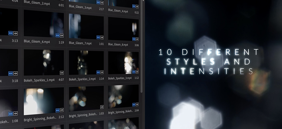 35 FREE Prism Bokeh Effect Overlays — Different Styles