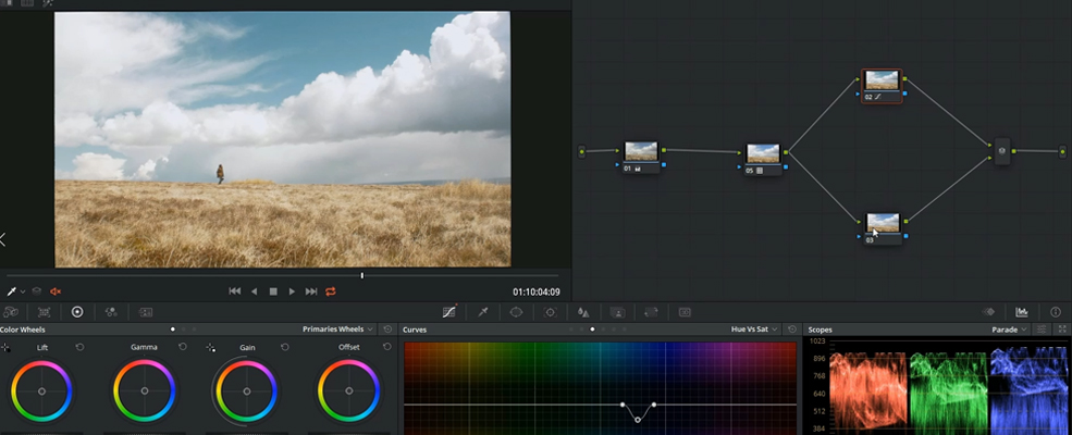 Get The Sicario Grade Look by Using HSL Curves — Hue and Saturation