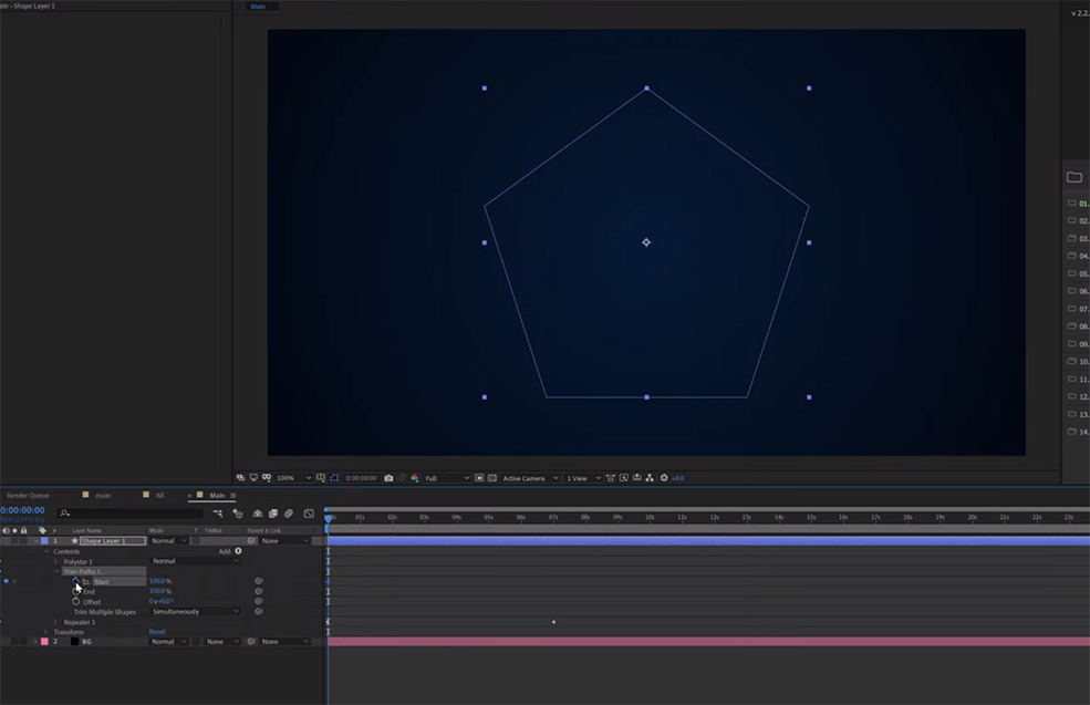 After Effects Tutorial: How to Create an Infinite Loopable Background — Customizing