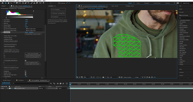 Lockdown Plugin Review: Track Warping Objects in After Effects — Auto Triangulate Mesh