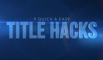 9 Quick and Easy Title Hacks