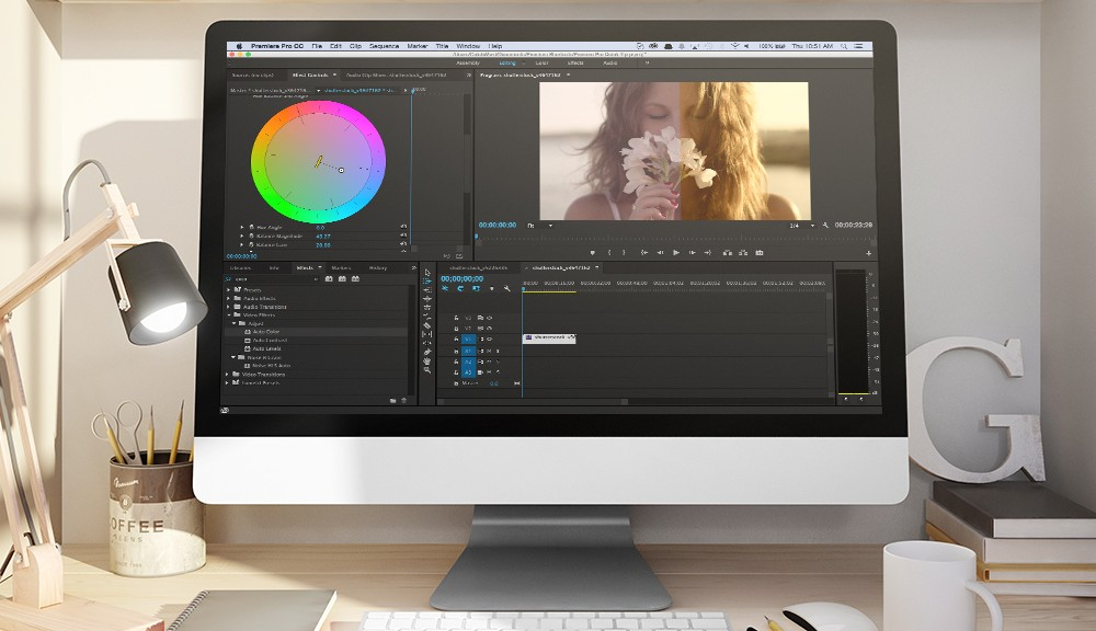 Fast Color Corrector in Premiere Pro