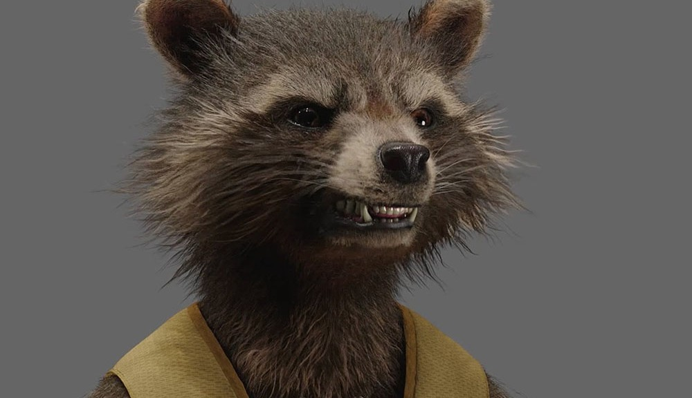 Framestore Rocket Raccoon