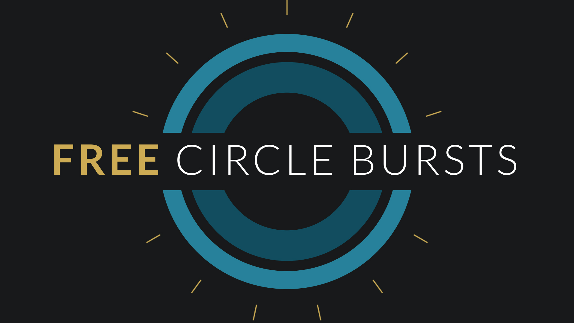 Free after effects template circle burst assets for Free after effects logo templates