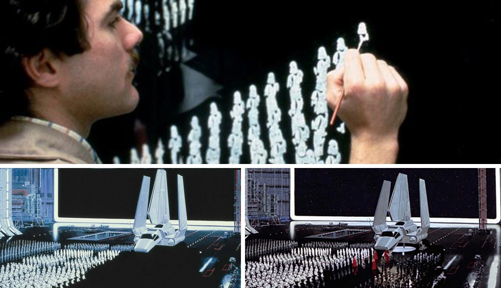 Visual Effects How Matte Paintings Are Composited Into Film